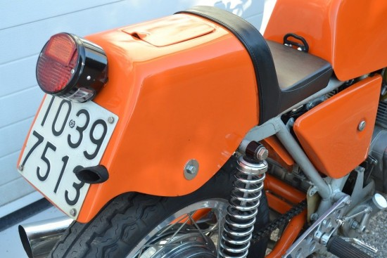 1972 Laverda SFC R Side Tail