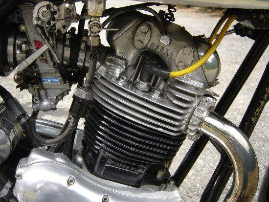 1974 Norton VR880 Engine Detail