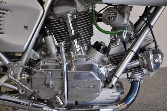 1975 Ducati 750SS R Side Engine