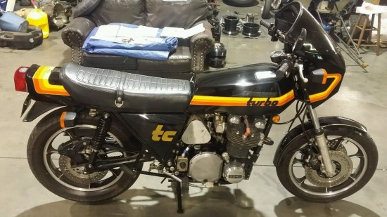 1978 Kawasaki Z1R Turbo R Side