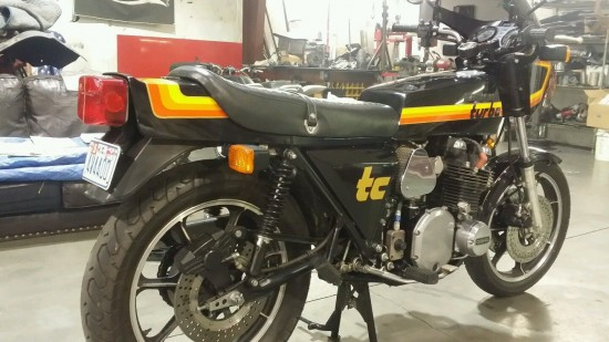 1978 Kawasaki Z1R Turbo R Side Rear