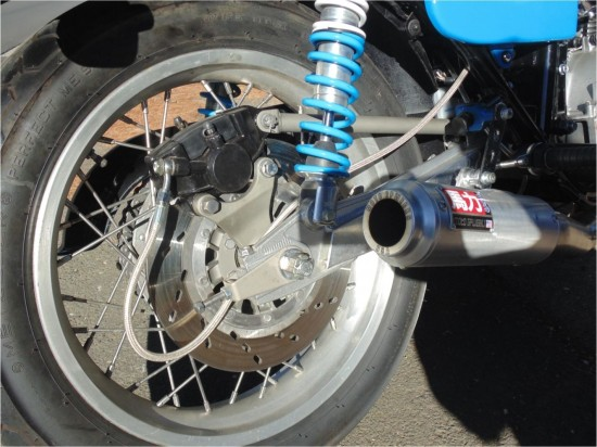 1980 Suzuki GS1000S Rear Suspension