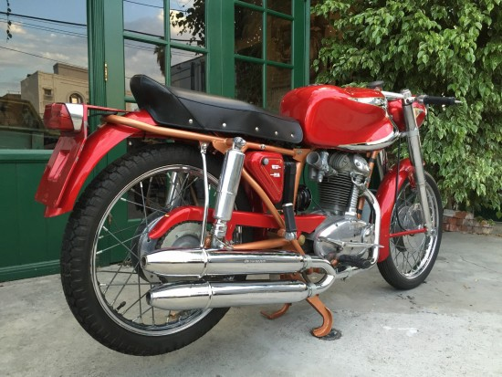 1959 Ducati Elite 200 R Side Rear