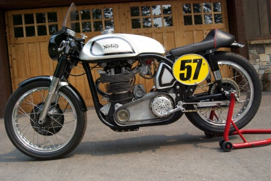 1961 Norton Manx Replica L Side