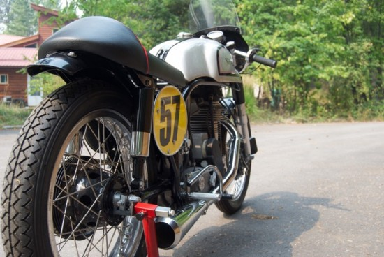 1961 Norton Manx Replica R Side Rear