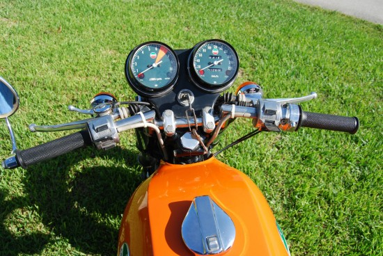 1973 Laverda SF1 Dash