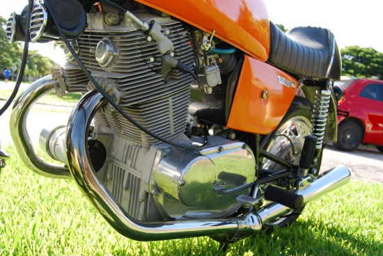 1973 Laverda SF1 Engine