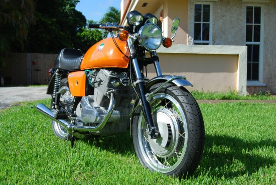 1973 Laverda SF1 R Side Front