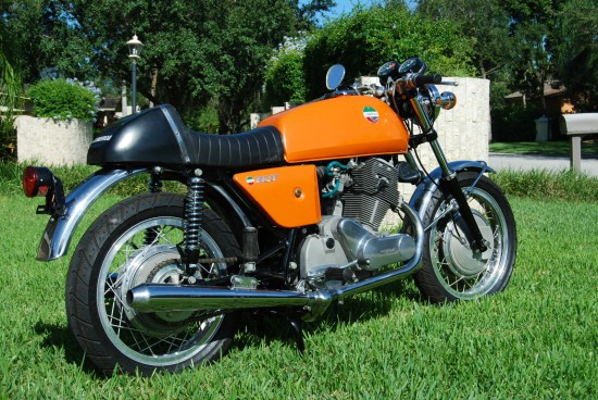 1973 Laverda SF1 R Side Rear