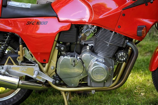 1985 Laverda SFC1000 R Side Engine