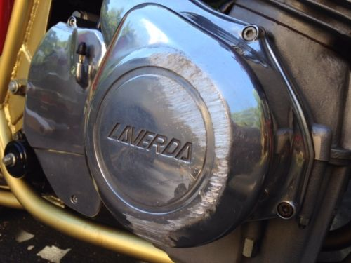 1985 Laverda SFC1000 R Side Engine Ouch