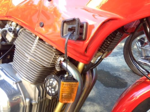 1985 Laverda SFC1000 R Side Fairing Damage
