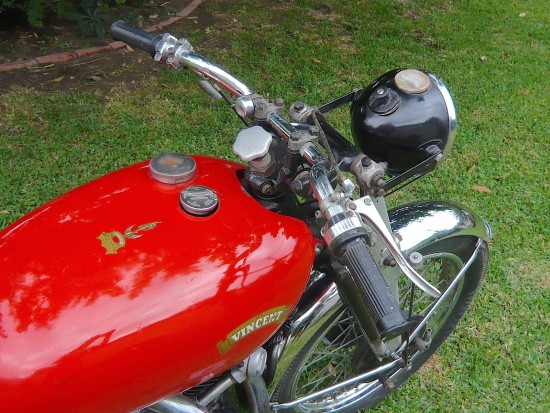 1951 Vincent Rapide Bars