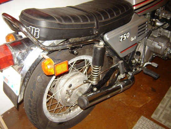1976 Benelli Sei 750 R Side Rear