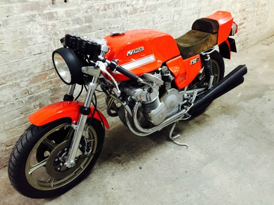 1977 MV Agusta 750S America L Side Front