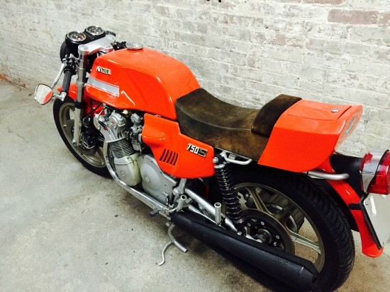 1977 MV Agusta 750S America L Side Rear