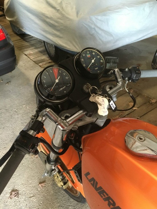 1978 Laverda 1200 Gauges