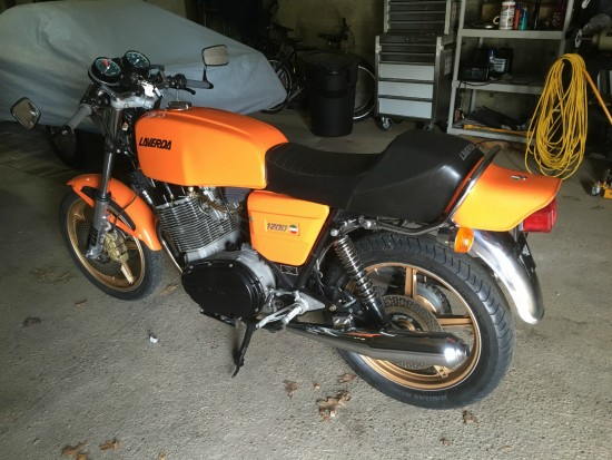1978 Laverda 1200 L Side Rear