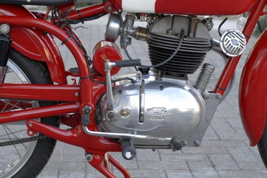 1957 Parilla 175 Tourismo R Engine