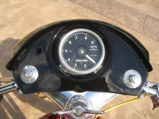 1962 Matchless G50 Dash