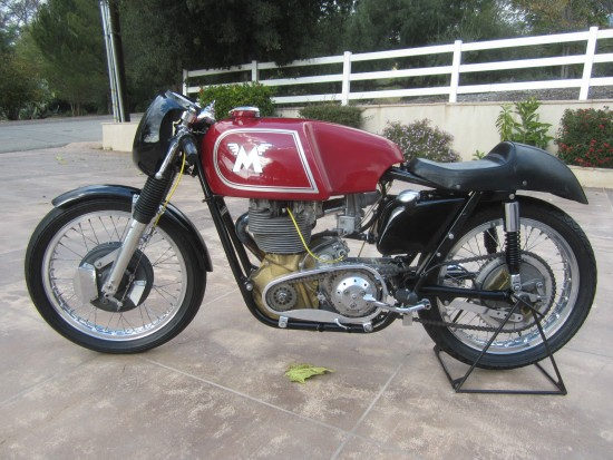 1962 Matchless G50 L Side