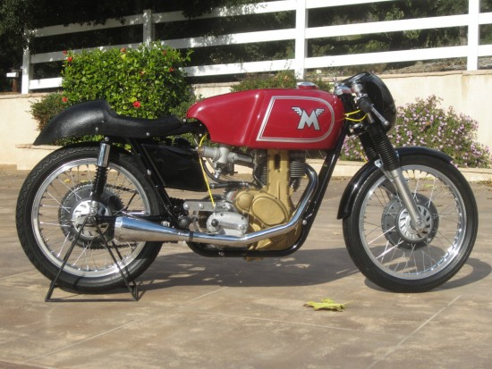 1962 Matchless G50 R Side