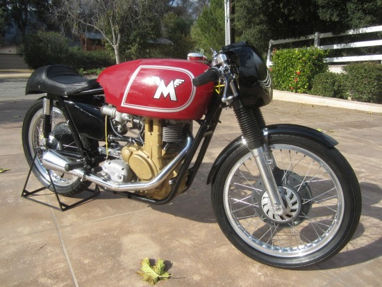 1962 Matchless G50 R Side Front