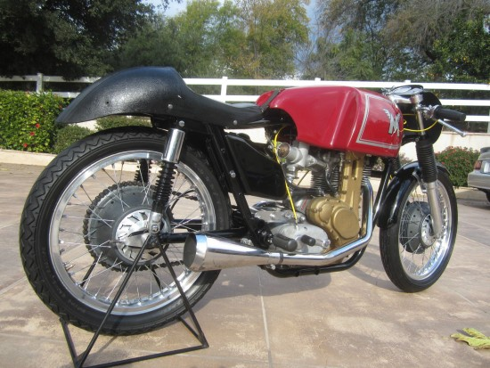 1962 Matchless G50 R Side Rear