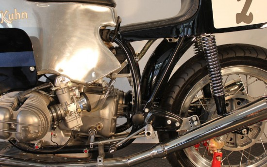1973 BMW R-Series Endurance Racer Engine Detail
