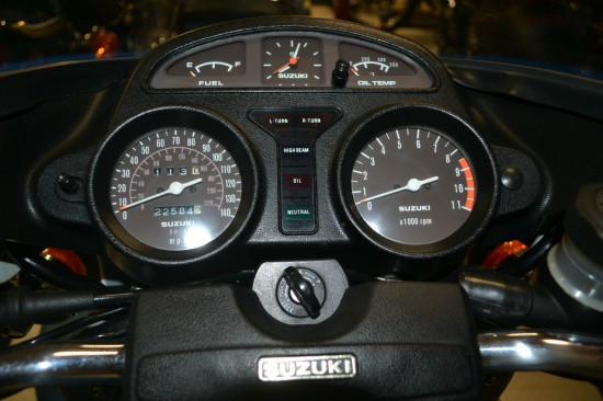 1979 Suzuki GS1000S Wes Cooley Dash