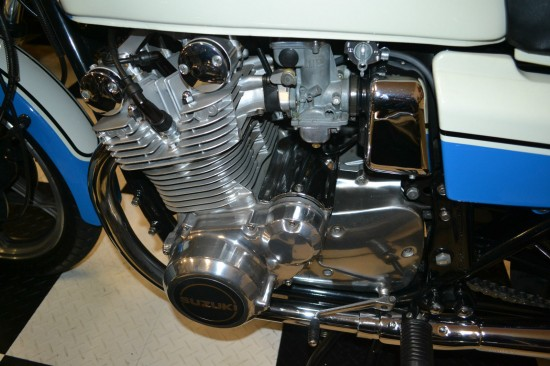1979 Suzuki GS1000S Wes Cooley L Side Engine