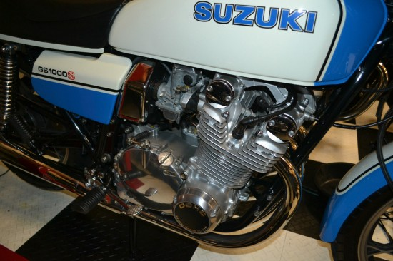1979 Suzuki GS1000S Wes Cooley R Side Engine