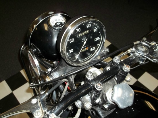 1952 Vincent Black Shadow Dash