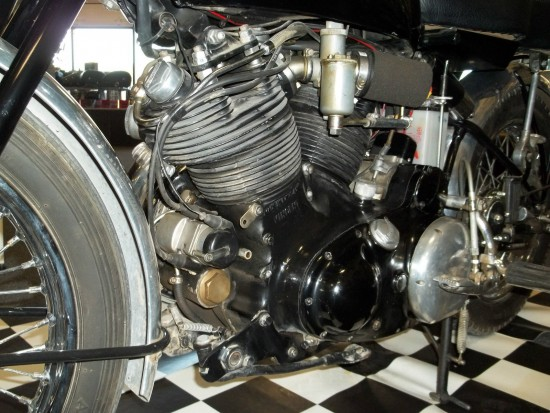 1952 Vincent Black Shadow L Engine