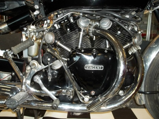 1952 Vincent Black Shadow R Engine
