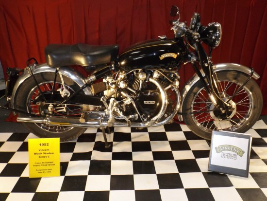 1952 Vincent Black Shadow R Side