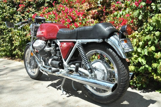 1972 Moto Guzzi V7 Sport L Side Rear