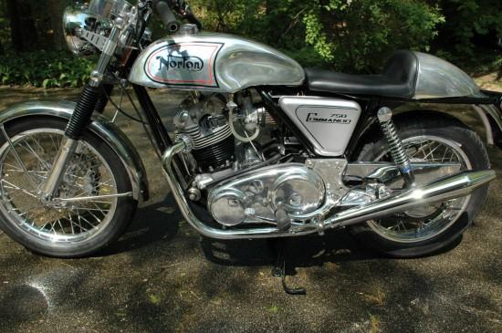1974 Norton Commando L Side
