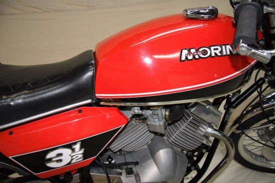 1977 Moto Morini 350 R Side Detail