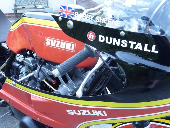 1979 Suzuki GS Barry Sheene Fairing Detail