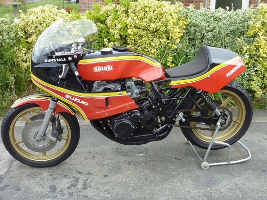 1979 Suzuki GS Barry Sheene L Side