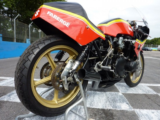 1979 Suzuki GS Barry Sheene R Rear