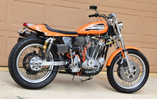 1972 Harley Davidson XR750 R Side