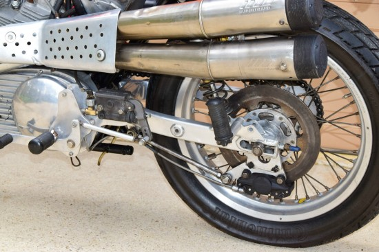 1972 Harley Davidson XR750 Rear Suspension