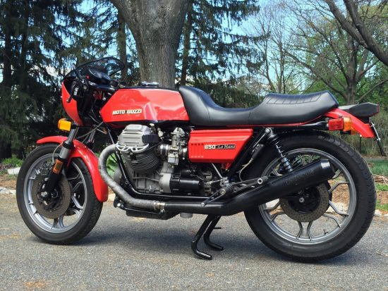 1977 Moto Guzzi 850 LeMans L Side