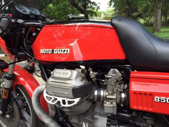 1977 Moto Guzzi 850 LeMans L Side Engine