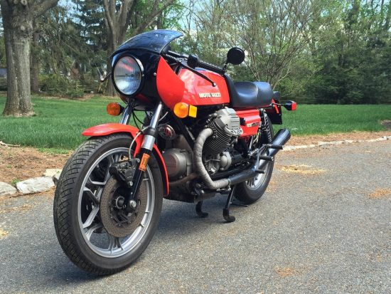 1977 Moto Guzzi 850 LeMans L Side Front