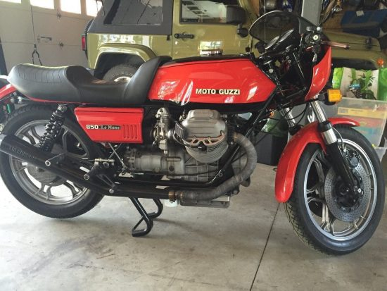1977 Moto Guzzi 850 LeMans R Side