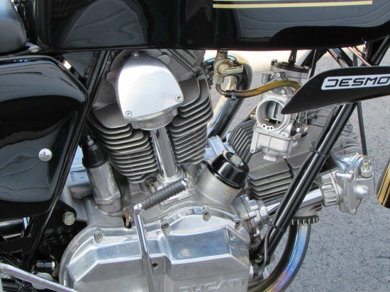 1978 Ducati 900SS R Side Engine