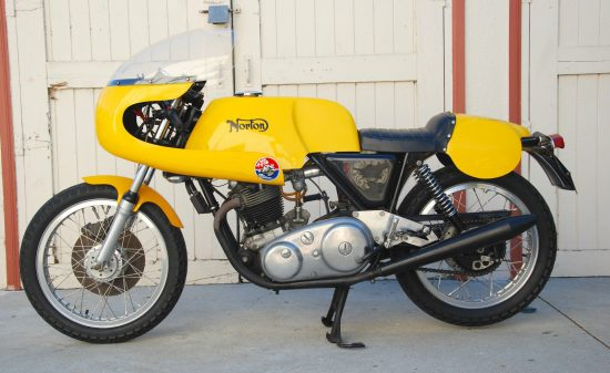 1971 Norton Commando Racer L Side